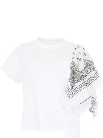 Sacai Bandana T-shirt