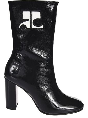 Courrèges Color Contrast Boots