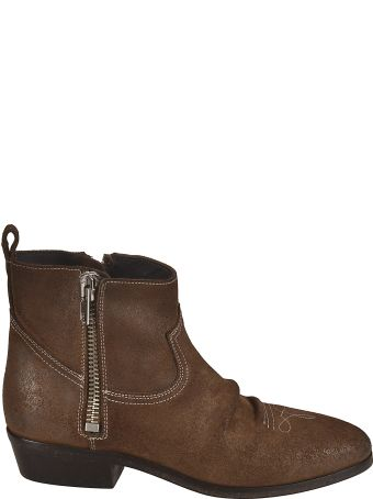 Golden Goose Side Zipped Ankle Boots