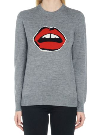 Markus Lupfer 'mia Painted Lip Intarsia' Sweater