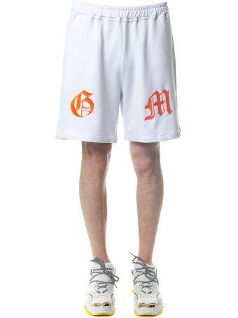 OMC White Cotton Shorts