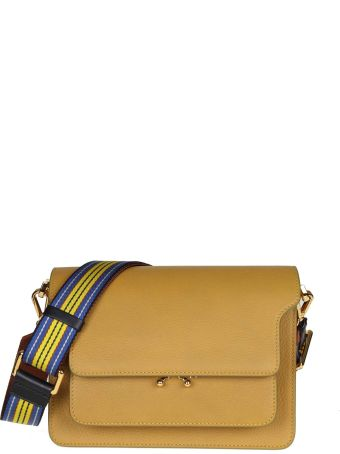 Marni Trunk Bag In Calf Leather