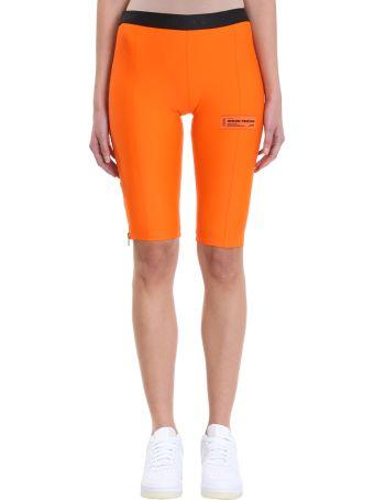 HERON PRESTON Logo Nylon Stretch Biker Shorts
