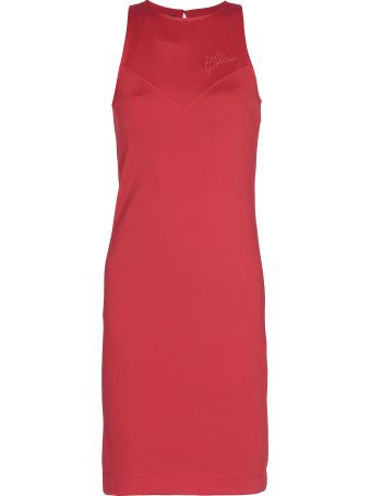 Love Moschino Plain Color Dress