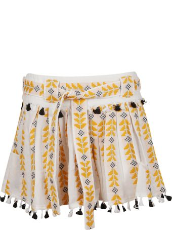 Dodo Bar Or Embroidered Detail Skirt