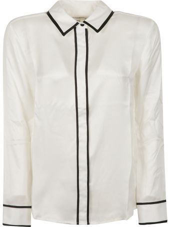 Equipment Contrast Piping Shirt