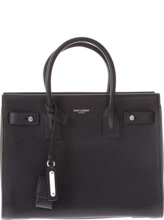 Saint Laurent Small Sac De Jour Grained Leather Bag