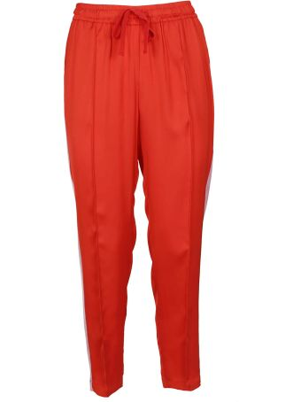 SEMICOUTURE Drawstrings Cropped Trousers