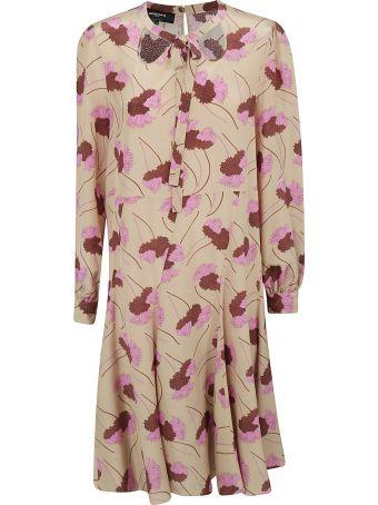 Rochas Printed Dress
