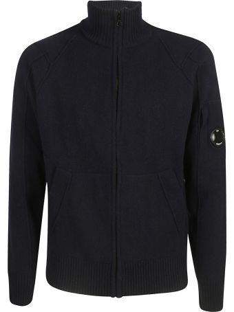 C.P. Company Zipped Cardigan