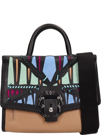 Paula Cademartori Ari  Black Leather Bag