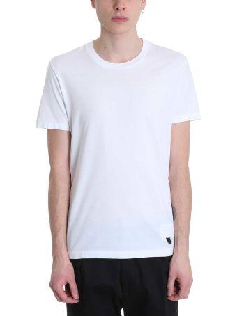 Low Brand White Cotton T-shirt