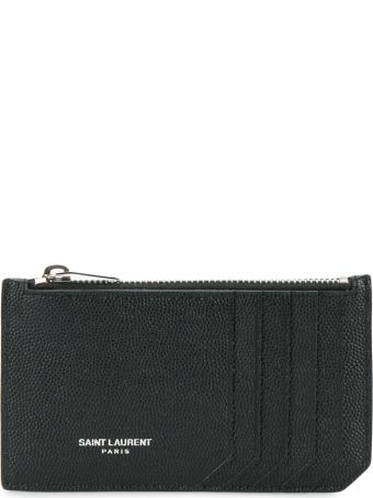 Saint Laurent Paris 5 Fragments Zip Pouch