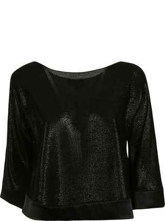 Emporio Armani Knitted Cropped Top