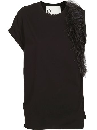 8PM Feather Detail Top