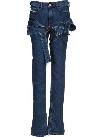Diesel Red Tag Cow Girl Skinny Jeans