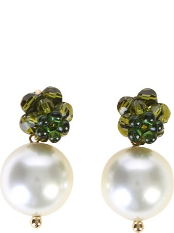 Simone Rocha Gold Plated Brass Earrings