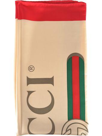 Gucci Foulard  Logo 90 X 90