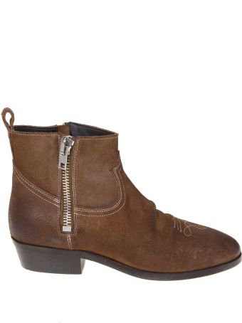 Golden Goose Viand Suede Leather Ankle Boot