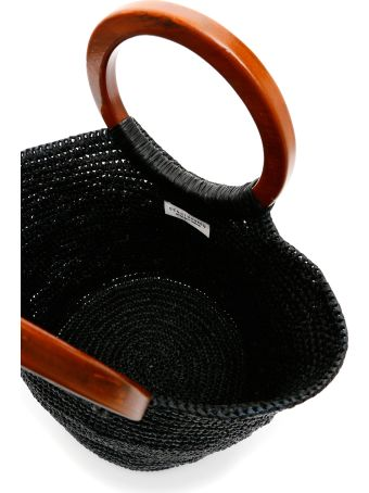 Sensi Studio Wicker Bag