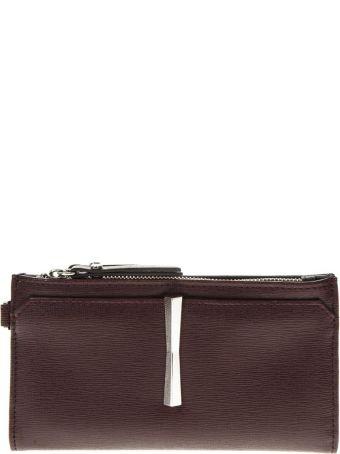 Gianni Chiarini Merlot Leather Wallet