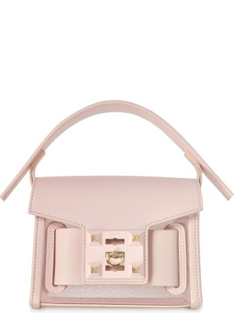 Salar Gaia Mesh Mini Crossbody Bag