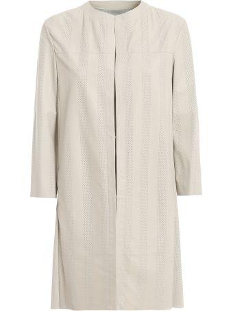 DROMe Drôme Perforated Coat