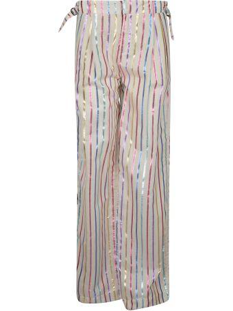 ATTICO Striped Trousers