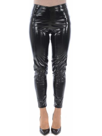 Federica Tosi Glossy Cropped Trousers