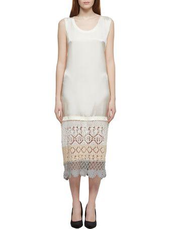 Jil Sander Crochet Shift Dress