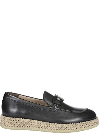 Salvatore Ferragamo Braided Detail Loafers