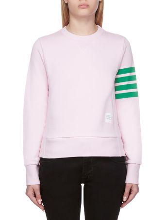 Thom Browne Striped Trim Sweatshirt
