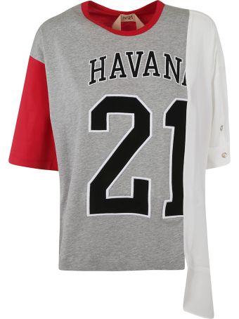 N.21 Hybrid T-shirt