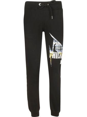 Philipp Plein Embellished Logo Track Pants