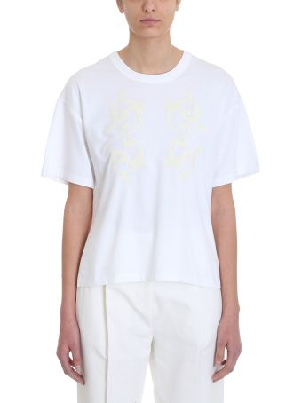 See by Chloé White Cotton T-shirt