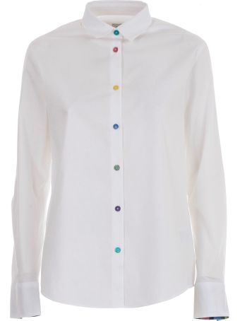 PS by Paul Smith Multicolored Button Shirt