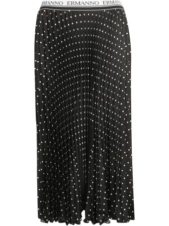 Ermanno Ermanno Scervino Polka-dot Skirt
