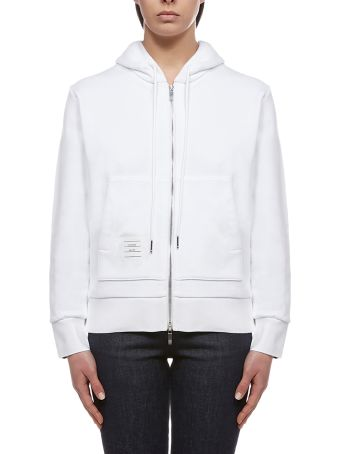 Thom Browne Zipped Up Hoodie