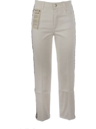 Stella McCartney Logo Stripe Jeans