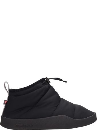 Adidas Black Fabric Adilette Prima Sneakers
