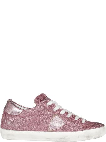 Philippe Model Glittered Sneakers