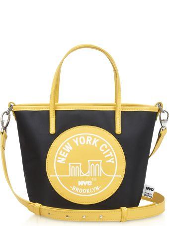 Meli Melo Brooklyn Yellow Paige Mini Tote Bag