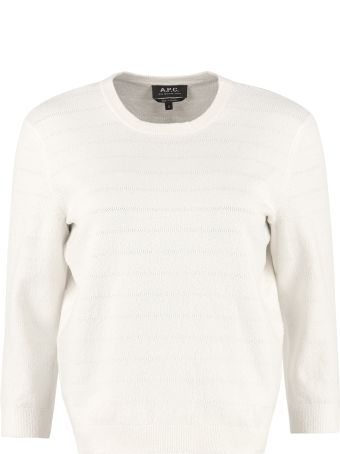 A.P.C. Zoe Cotton-blend Sweater