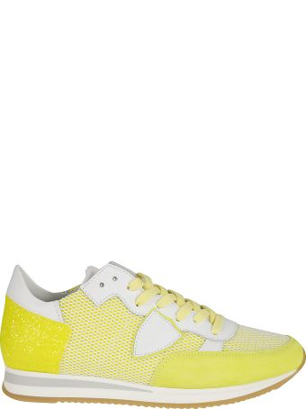 Philippe Model Perforated Running Sneakers