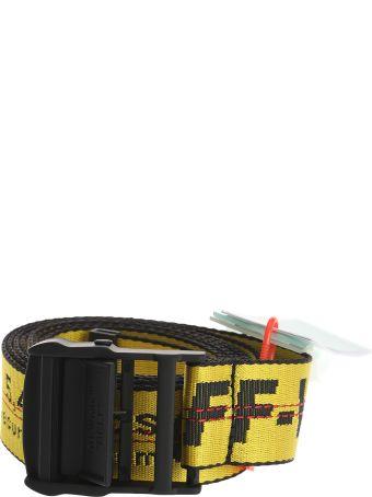 Off-White Off White Industrial Logo Belt