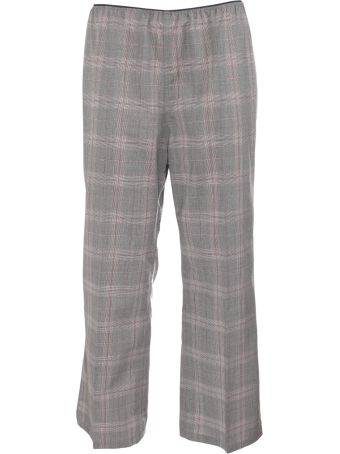Sofie d'Hoore Check Cropped Trousers
