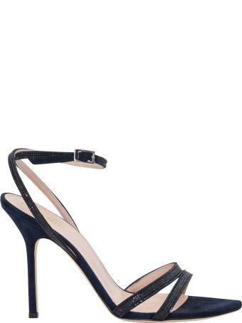Pollini Sandals With Rihnestones