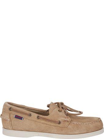 Sebago Logo Patch Boat Shoes