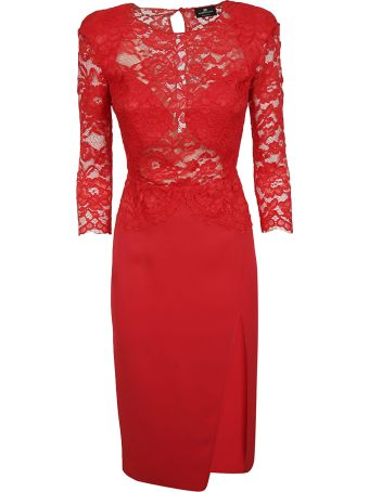Elisabetta Franchi Celyn B. Elisabetta Franchi For Celyn B. Lace Detail Dress