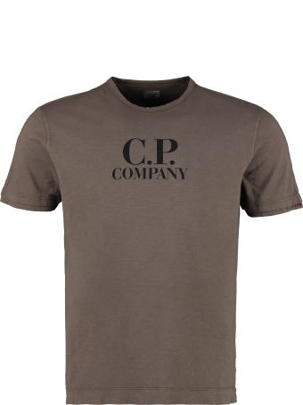C.P. Company Printed Cotton T-shirt
